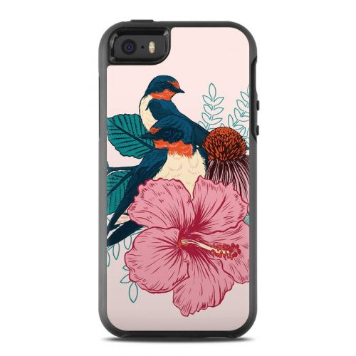 Barn Swallows OtterBox Symmetry iPhone SE Case Skin