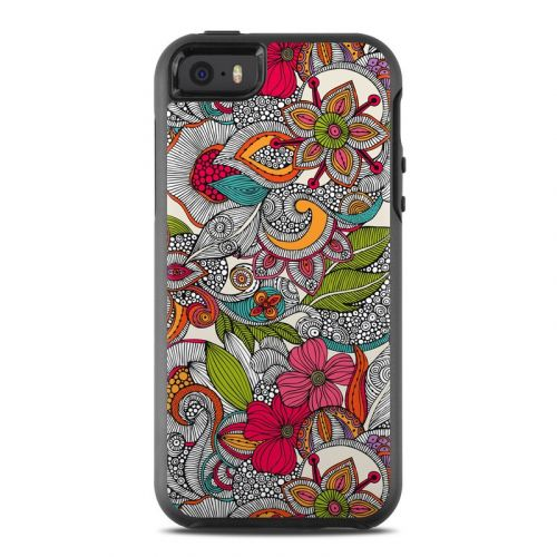 Doodles Color OtterBox Symmetry iPhone SE Skin