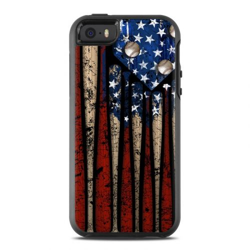 Old Glory OtterBox Symmetry iPhone SE Skin