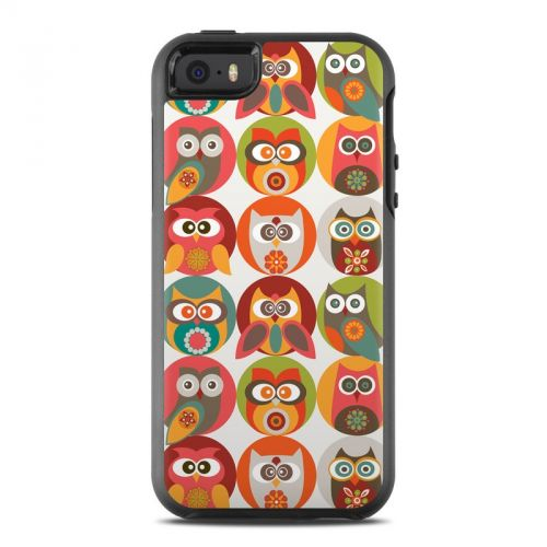 Owls Family OtterBox Symmetry iPhone SE Skin