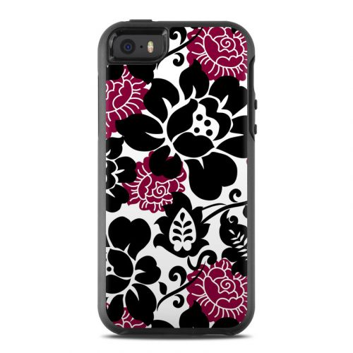 Rose Noir OtterBox Symmetry iPhone SE Skin