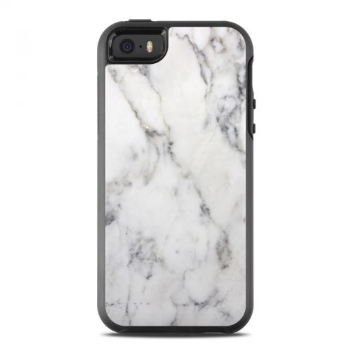 White Marble OtterBox Symmetry iPhone SE Case Skin
