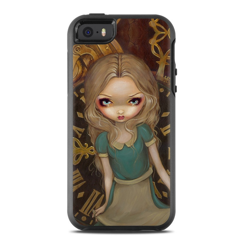 Alice Clockwork OtterBox Symmetry iPhone SE Skin