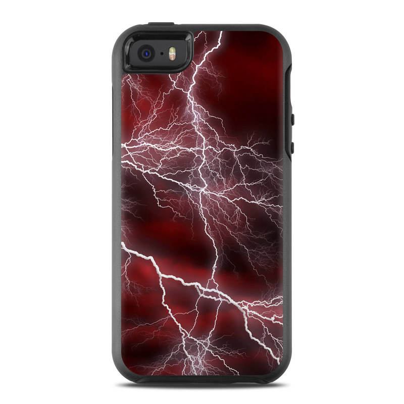Apocalypse Red OtterBox Symmetry iPhone SE Case Skin