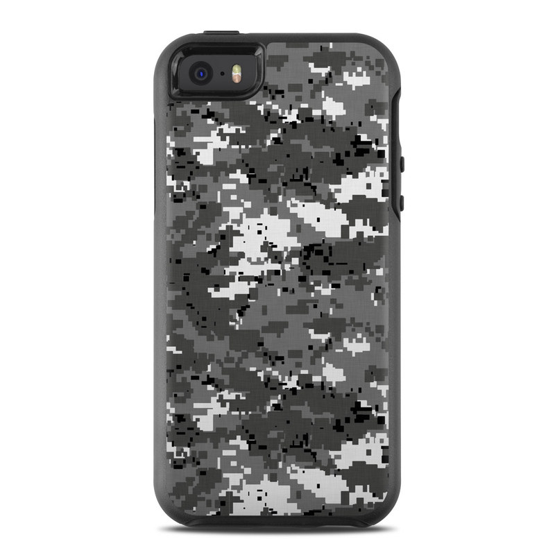 Digital Urban Camo OtterBox Symmetry iPhone SE Skin