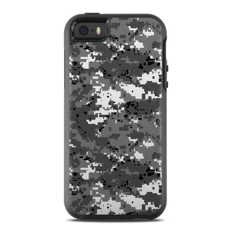 Digital Urban Camo OtterBox Symmetry iPhone SE Case Skin