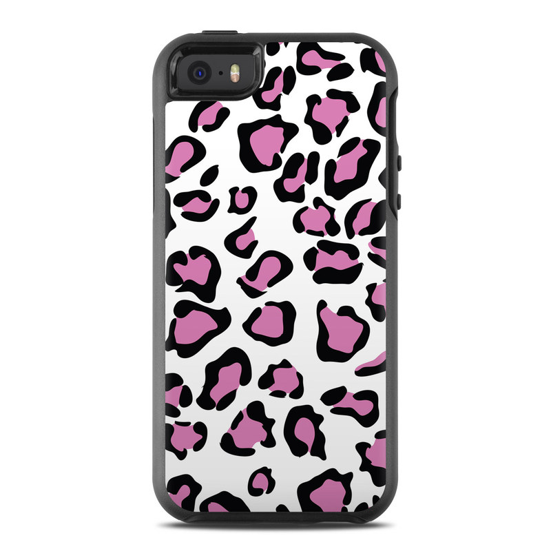 Leopard Love OtterBox Symmetry iPhone SE Skin