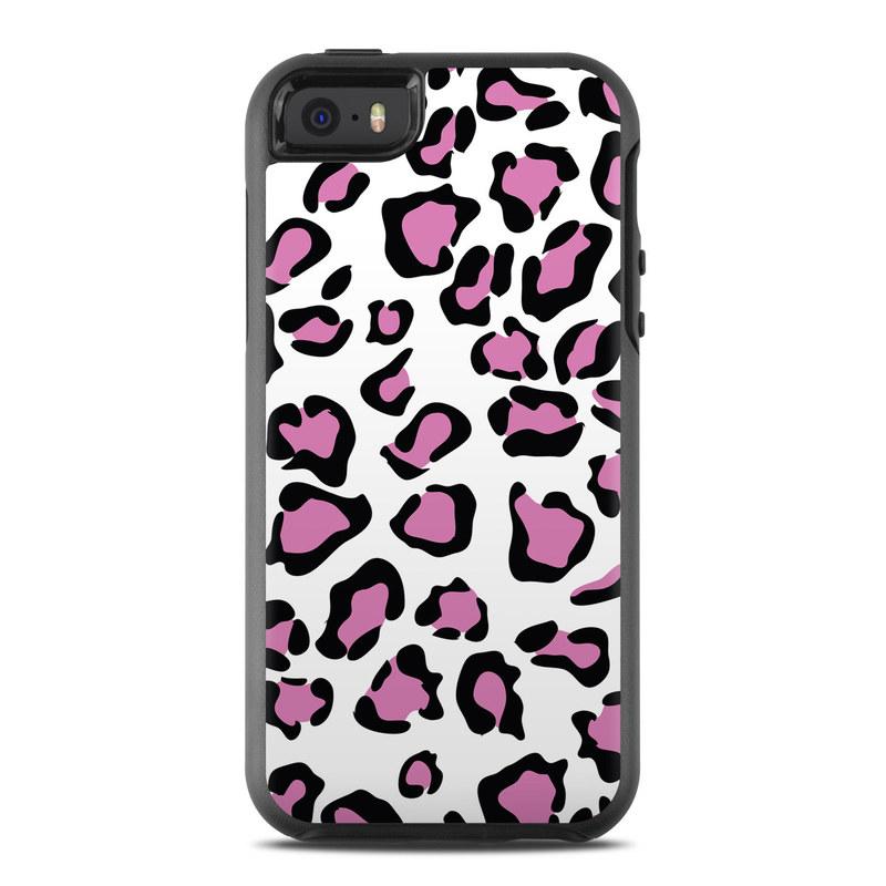 Leopard Love OtterBox Symmetry iPhone SE Skin