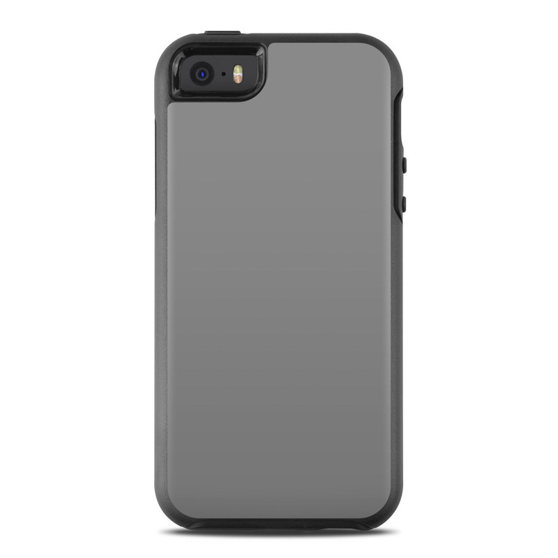 Solid State Grey OtterBox Symmetry iPhone SE Skin