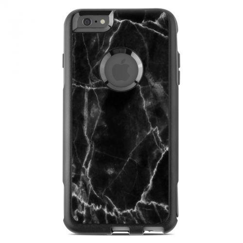 Black Marble OtterBox Commuter iPhone 6s Plus Case Skin