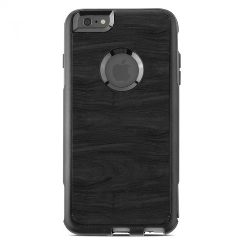 Black Woodgrain OtterBox Commuter iPhone 6s Plus Case Skin
