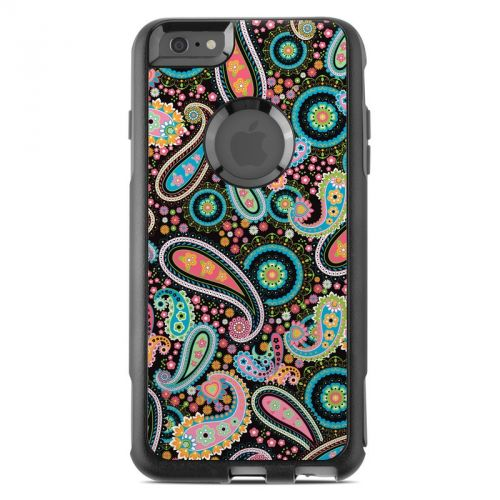 Crazy Daisy Paisley OtterBox Commuter iPhone 6s Plus Skin
