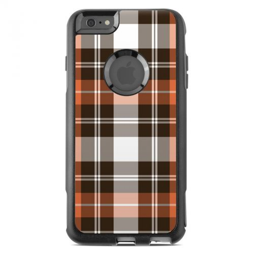 Copper Plaid OtterBox Commuter iPhone 6s Plus Skin