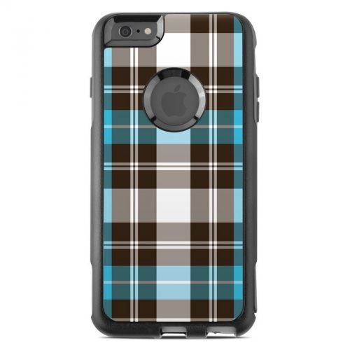 Turquoise Plaid OtterBox Commuter iPhone 6s Plus Skin