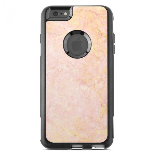 Rose Gold Marble OtterBox Commuter iPhone 6s Plus Skin