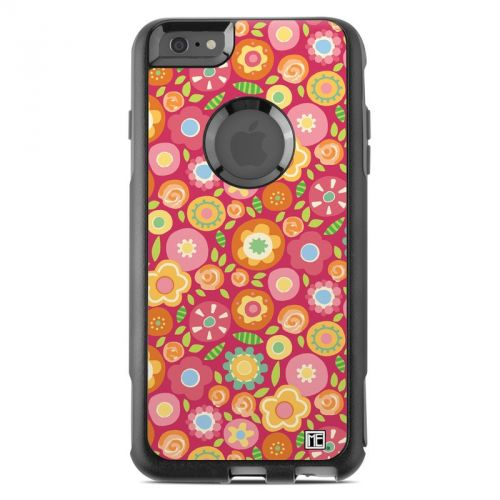 Flowers Squished OtterBox Commuter iPhone 6s Plus Skin