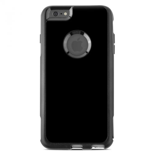 Solid State Black OtterBox Commuter iPhone 6s Plus Case Skin