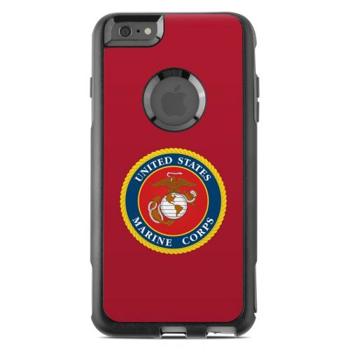 USMC Red OtterBox Commuter iPhone 6s Plus Case Skin