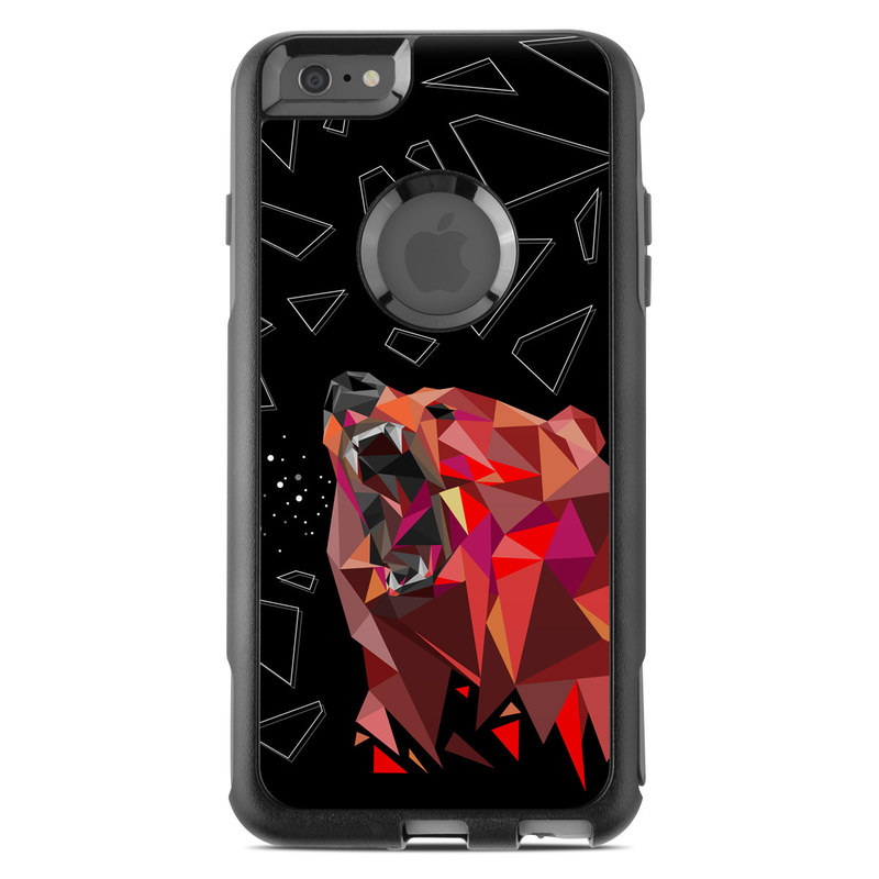 Bears Hate Math OtterBox Commuter iPhone 6s Plus Skin