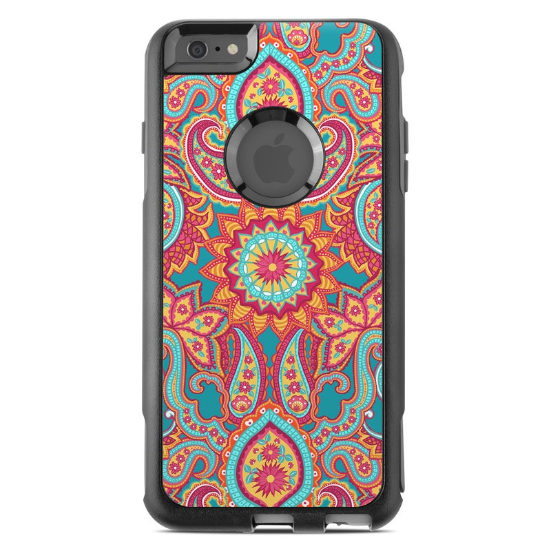 Carnival Paisley OtterBox Commuter iPhone 6s Plus Case Skin