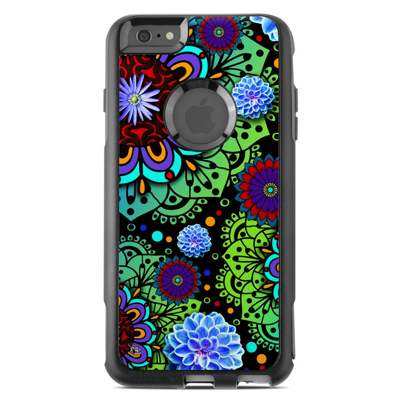 Funky Floratopia OtterBox Commuter iPhone 6s Plus Case Skin