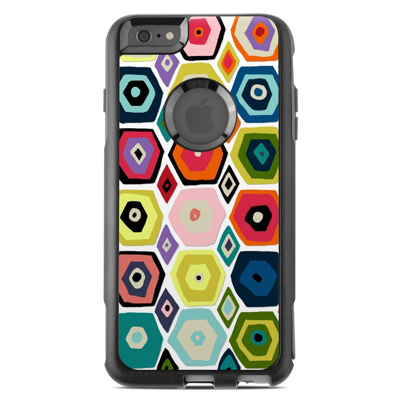 Hex Diamond OtterBox Commuter iPhone 6s Plus Skin