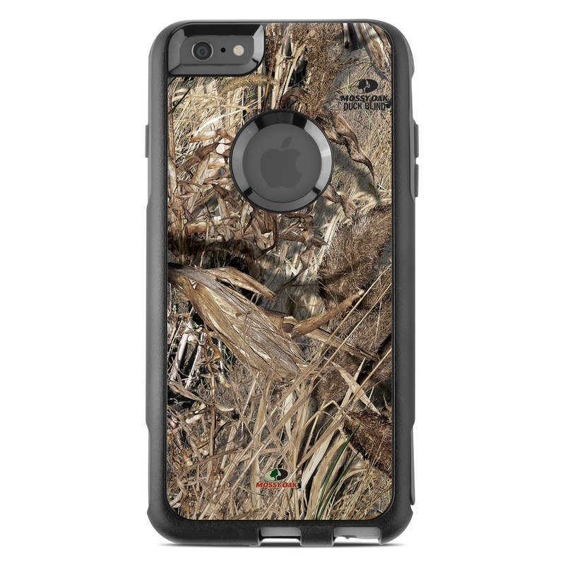 OtterBox Commuter iPhone 6s Plus Case Skin design of Soil, Plant with black, gray, green, red colors