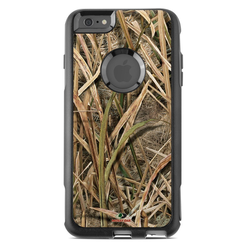 OtterBox Commuter iPhone 6s Plus Case Skin design of Grass, Straw, Plant, Grass family, Twig, Adaptation, Agriculture with black, green, gray, red colors