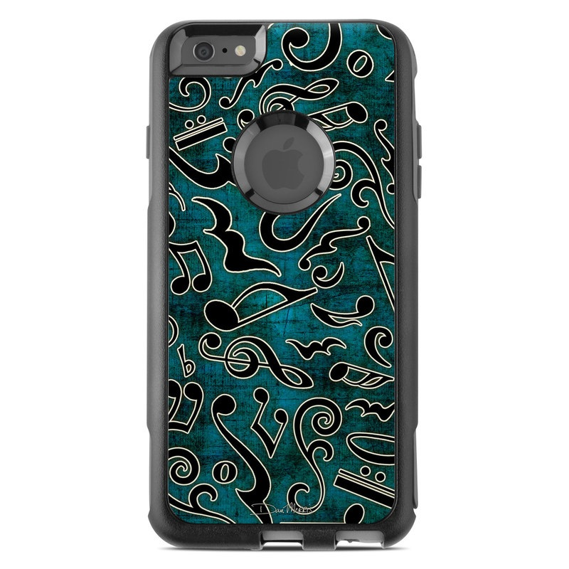 Music Notes OtterBox Commuter iPhone 6s Plus Skin