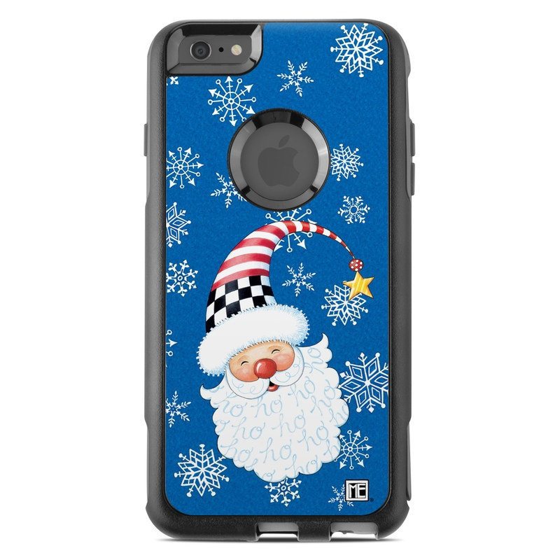 Santa Snowflake OtterBox Commuter iPhone 6s Plus Skin