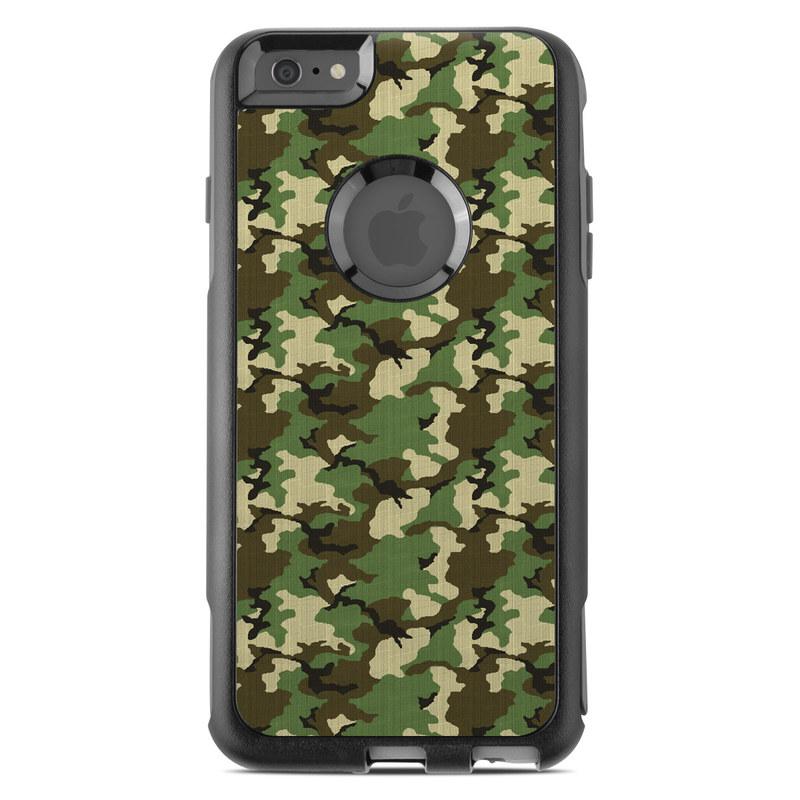Woodland Camo OtterBox Commuter iPhone 6s Plus Skin