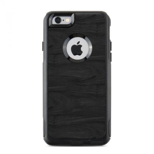 Black Woodgrain OtterBox Commuter iPhone 6s Case Skin
