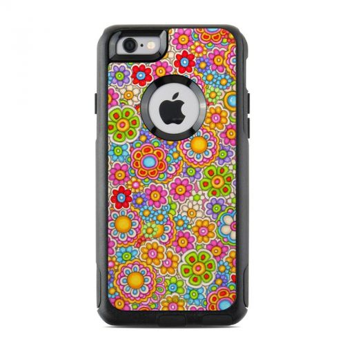 Bright Ditzy OtterBox Commuter iPhone 6s Skin