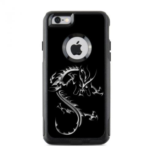 Chrome Dragon OtterBox Commuter iPhone 6s Skin