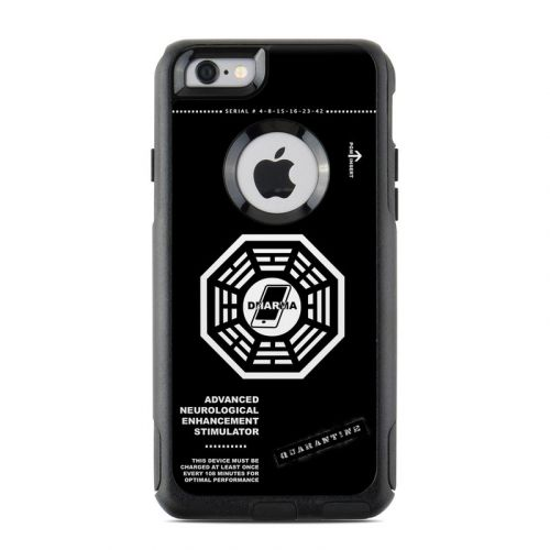 Dharma Black OtterBox Commuter iPhone 6s Case Skin