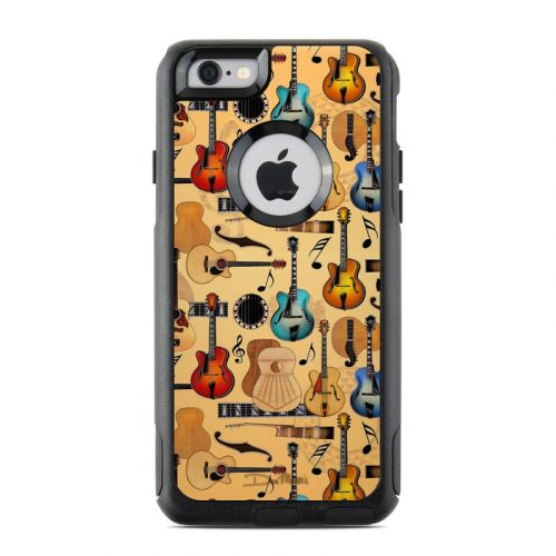 Guitar Collage OtterBox Commuter iPhone 6s Skin
