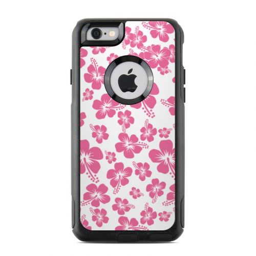 Pink Hibiscus OtterBox Commuter iPhone 6s Case Skin