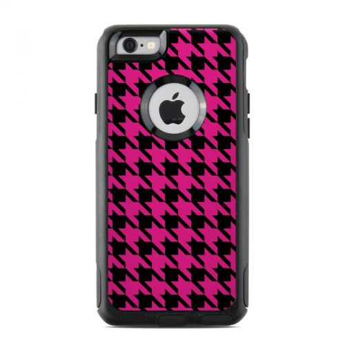 Pink Houndstooth OtterBox Commuter iPhone 6s Skin