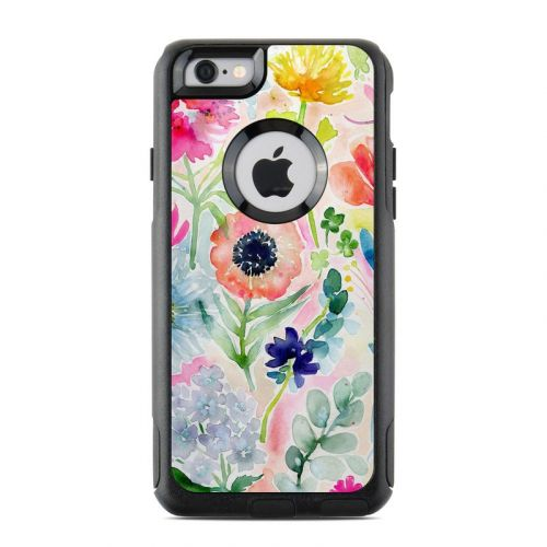 Loose Flowers OtterBox Commuter iPhone 6s Case Skin