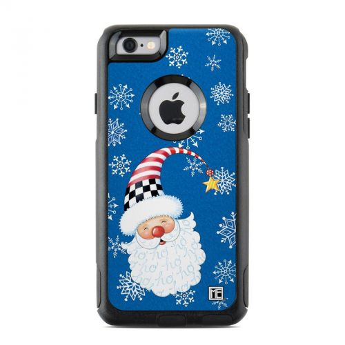 Santa Snowflake OtterBox Commuter iPhone 6s Skin