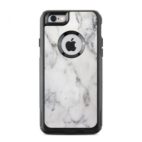 White Marble OtterBox Commuter iPhone 6s Case Skin