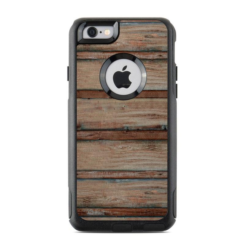 Boardwalk Wood OtterBox Commuter iPhone 6s Skin