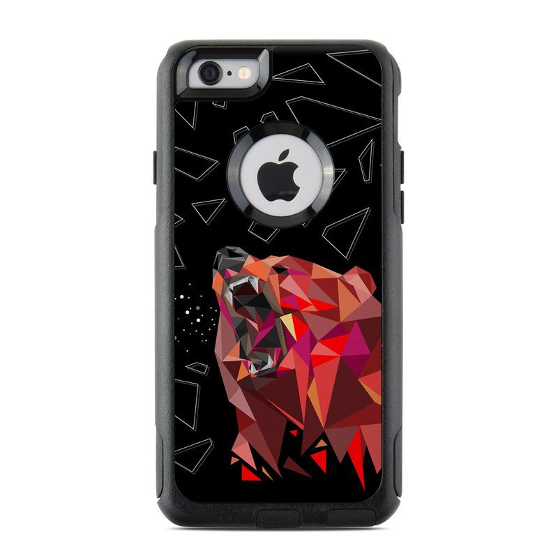 Bears Hate Math OtterBox Commuter iPhone 6s Skin