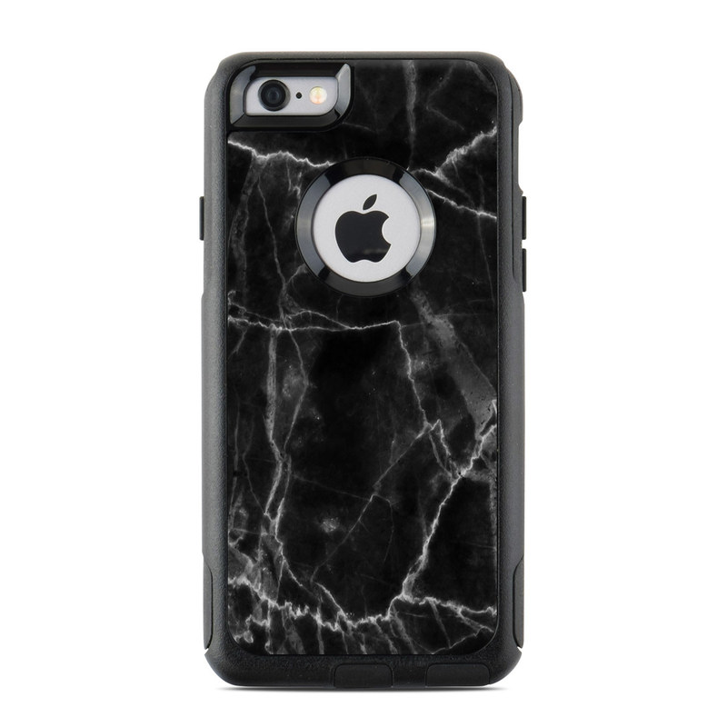 differently 4aa84 6a8d8 Black Marble OtterBox Commuter iPhone 6s Case Skin