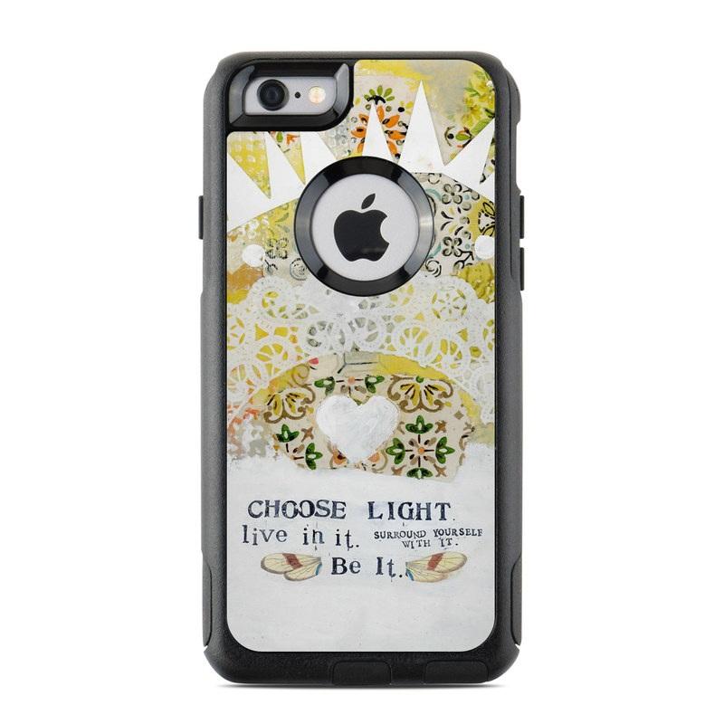 Choose Light OtterBox Commuter iPhone 6s Case Skin