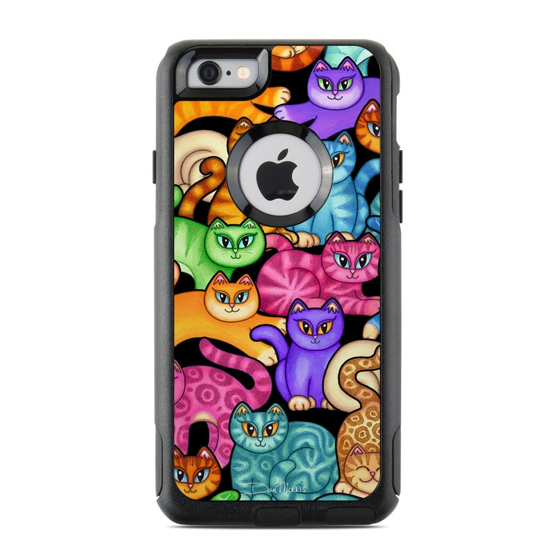 Colorful Kittens OtterBox Commuter iPhone 6s Skin
