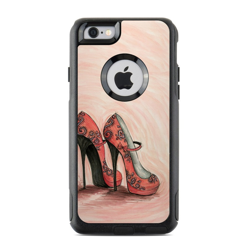 Coral Shoes OtterBox Commuter iPhone 6s Case Skin