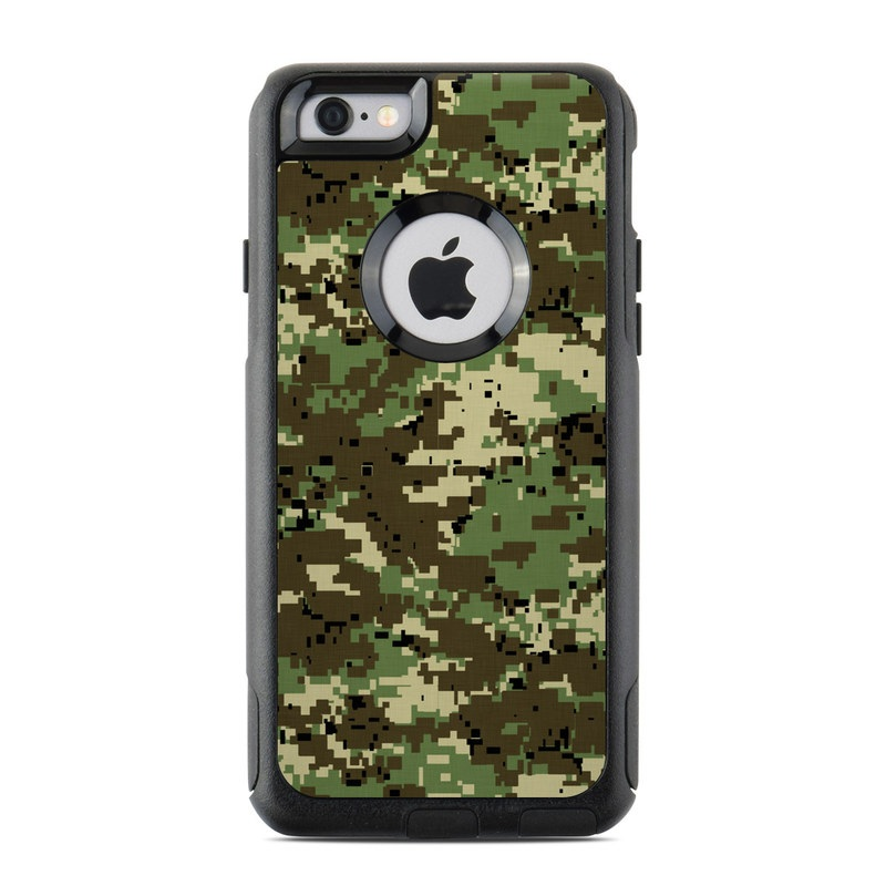 Digital Woodland Camo OtterBox Commuter iPhone 6s Skin