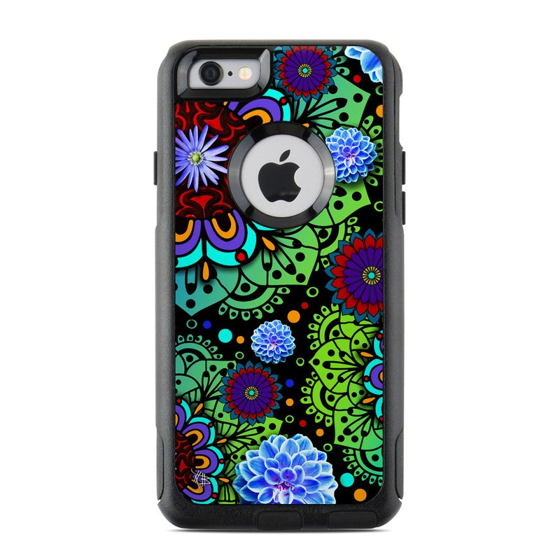 Funky Floratopia OtterBox Commuter iPhone 6s Case Skin