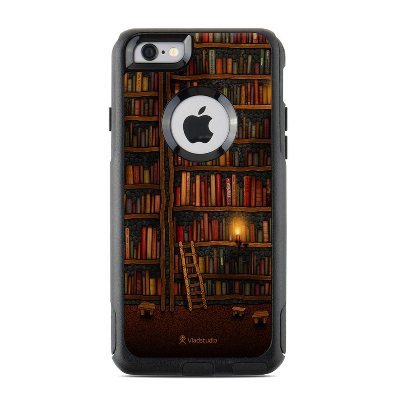 Library OtterBox Commuter iPhone 6s Case Skin